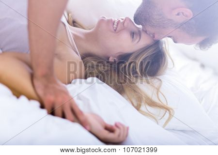 Young Marriage During Morning Sex