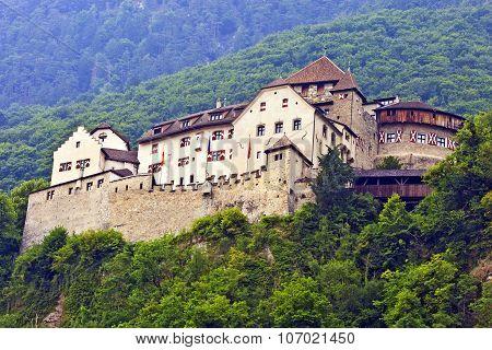 Vaduz, Liechtenstein - Castle