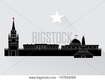 Kremlin in Russia.
