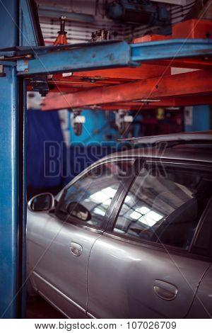 Auto At Mechanic Shop