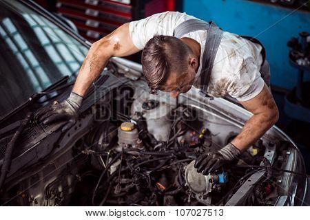 Inside Of Car Bonnet