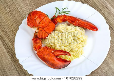 Risotto With Lobster