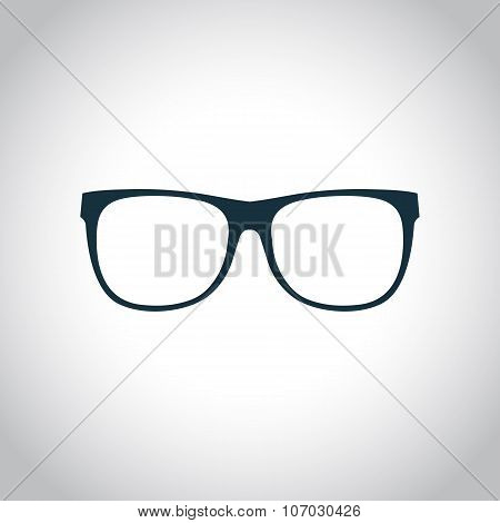 Eyeglasses black icon