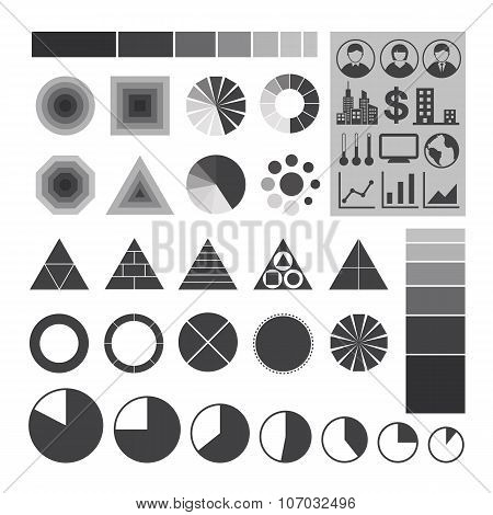 Infographic icons, Element of infographics.
