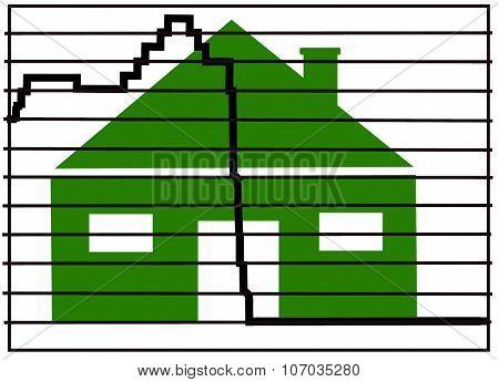 interest rates mortgage illustration graph