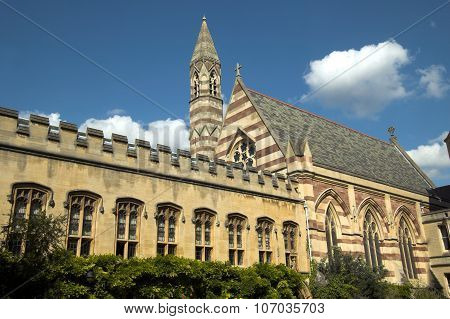 Chapel of Balliol College Oxford University