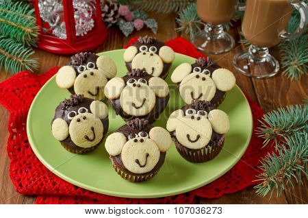 Chocolate Muffins Monkey