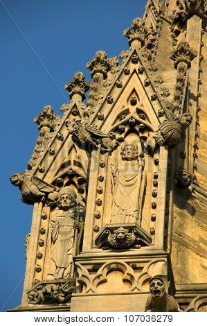 Gargoyles St Mary The Virgin in Oxford