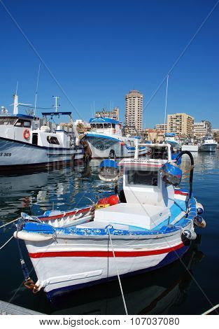 Fishing boats, Fuengirola.
