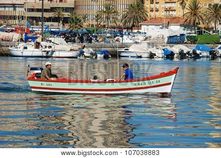 Fishing boat, Fuengirola.