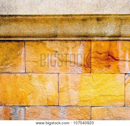 Sand Stone Wall