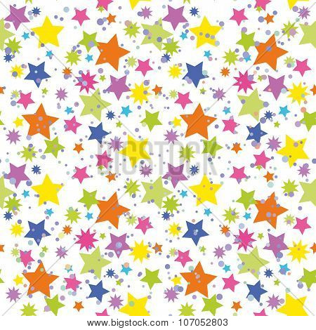 Seamless Background, Stars