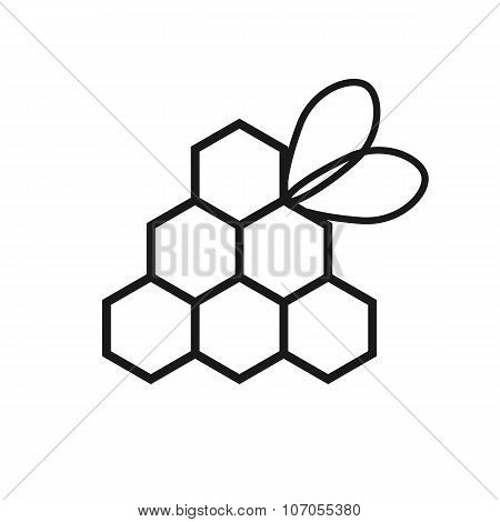 beekeeping black logo
