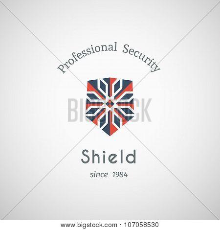 Shield Security Vector Logo