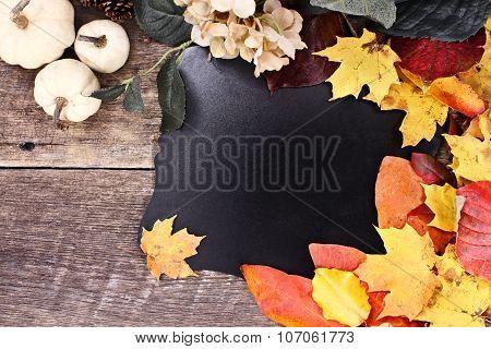 Autumn Blackboard