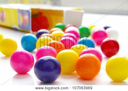 Bright Candy Gumballs