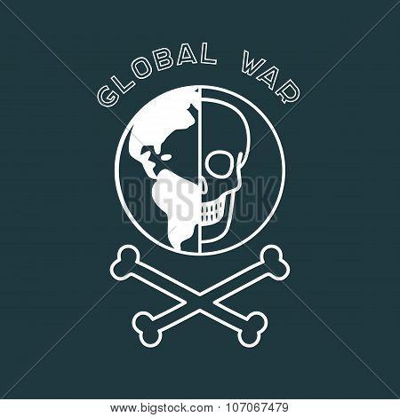 Global War Poster