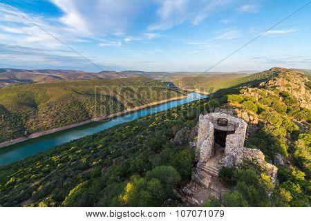 Beautiful Landscape In Monfrague, Spain