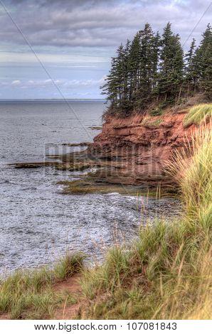 coastline at Graham Head, Prince Edward Island
