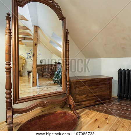 Cloudy Home - Mirror