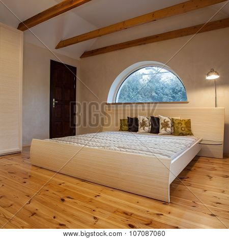 Cloudy Home - Bedroom In The Attic