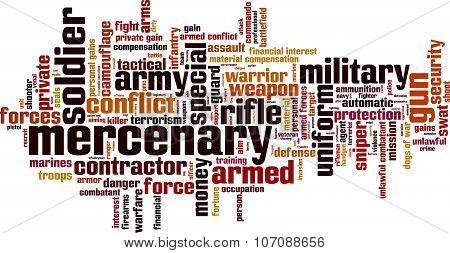 Mercenary Word Cloud