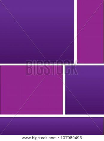 Corporate Purple Brochure Background