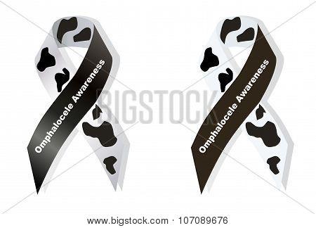 Cow Print Ribbon