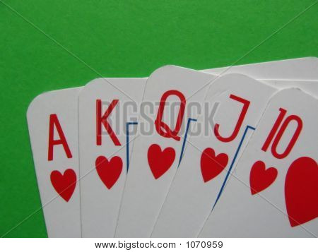 Hearts Royal Poker