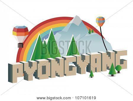 Pyongyang, beautiful destination to visit
