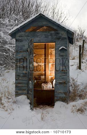 Winter Bathroom