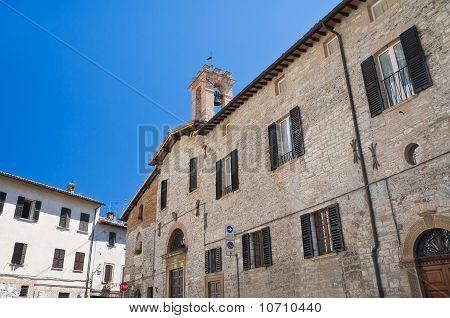 Madonna dei Neri Church. Gubbio. Umbria.