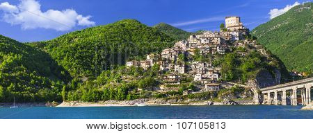 most beautiful villages of Italy series - Castel di Tora