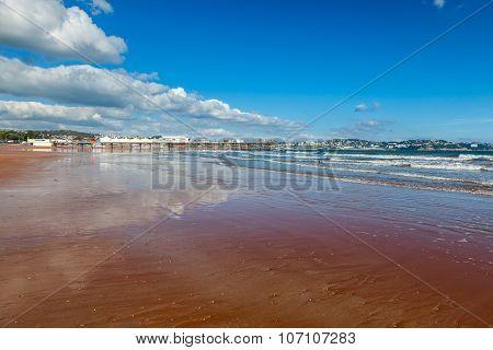 Paignton Beach Devon England