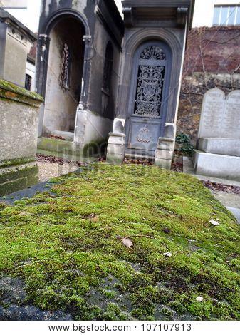 City Graveyard Montmartre Paris France