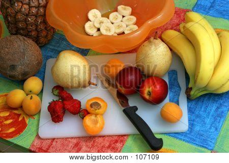 Preparing Fruit Salad I