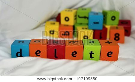 Kids Blocks Delete