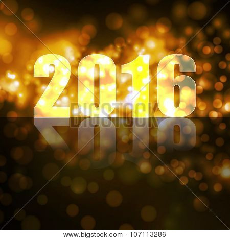vector new year 2016 beautiful design
