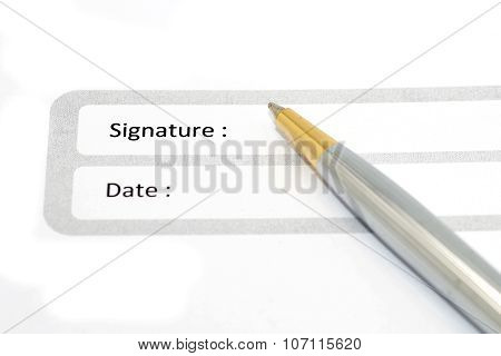 Signature Field On Document