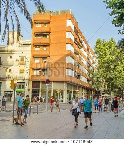 La Rambla Street