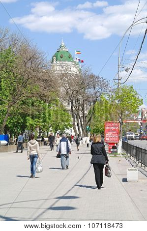 The Streets Of Rostov-on-don