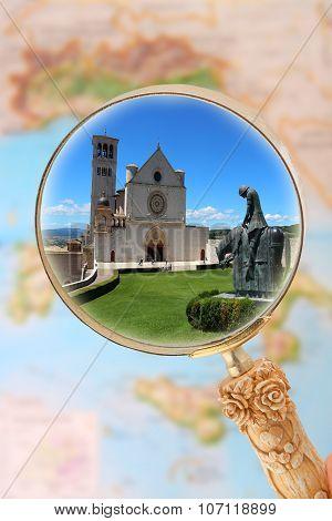 Basilica Di Assisi, Italy