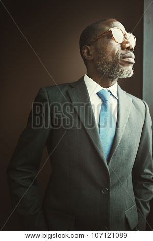 African Descent Businessman Office Worker Concept