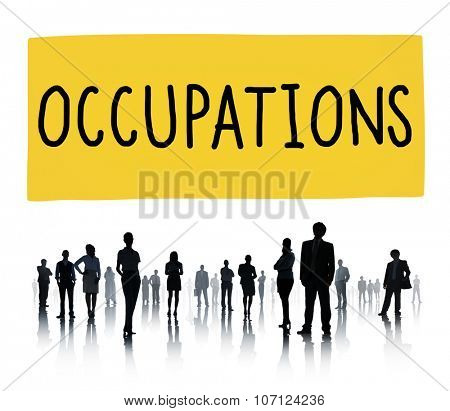 Occupation Job Career Employment Hiring Recruiting Concept