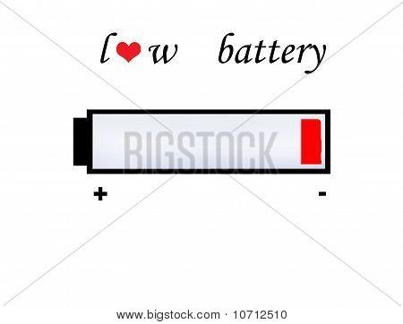 Love Battery Symbol
