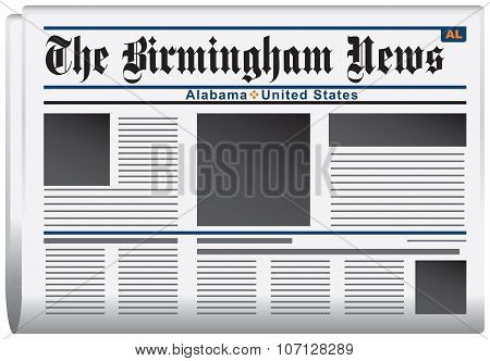 Newspaper Birmingham News Alabama