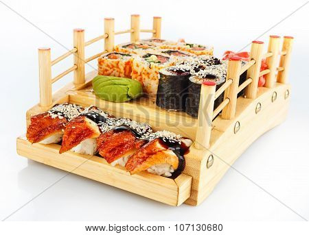 Set of Sushi roll