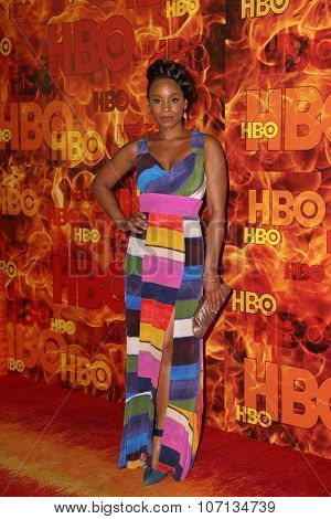 LOS ANGELES - SEP 20:  Anika Noni Rose at the HBO Primetime Emmy Awards After-Party at the Pacific Design Center on September 20, 2015 in West Hollywood, CA