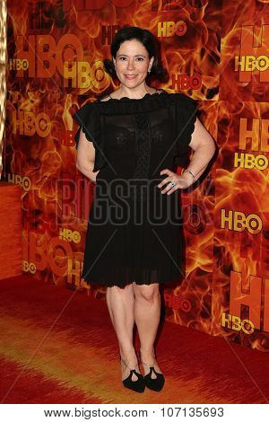 LOS ANGELES - SEP 20:  Alex Borstein at the HBO Primetime Emmy Awards After-Party at the Pacific Design Center on September 20, 2015 in West Hollywood, CA