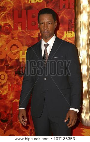 LOS ANGELES - SEP 20:  Tory Kittles at the HBO Primetime Emmy Awards After-Party at the Pacific Design Center on September 20, 2015 in West Hollywood, CA
